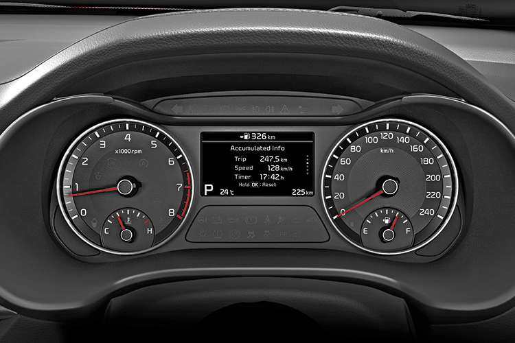 new kia cerato meters