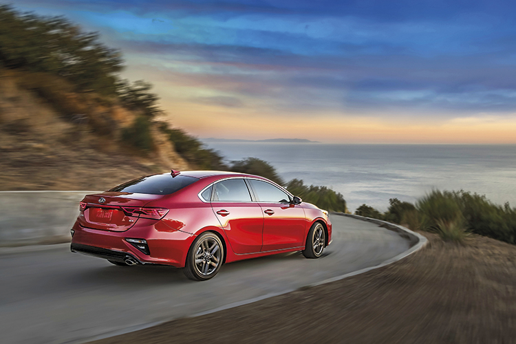 new kia cerato rear panning