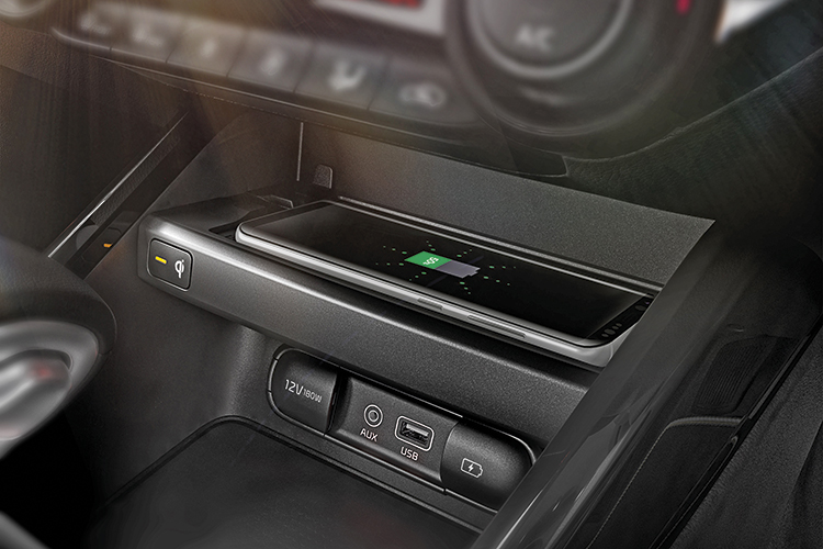 new kia cerato wireless charger