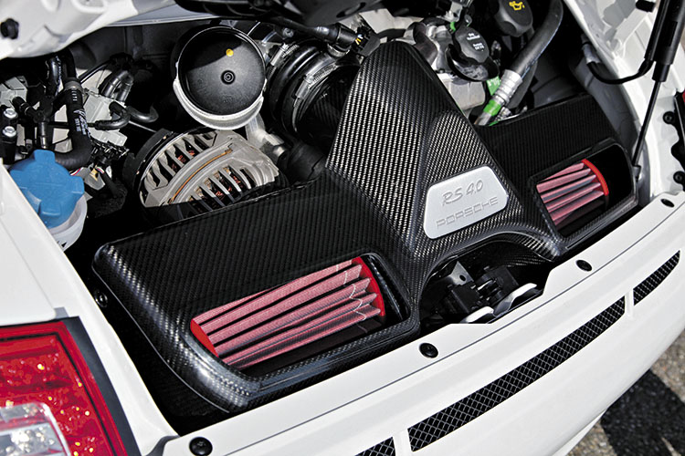 porsche 911 gt3 rs 4.0 engine
