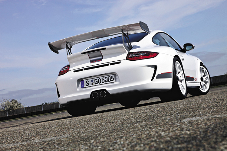porsche 911 gt3 rs 4.0 rear static