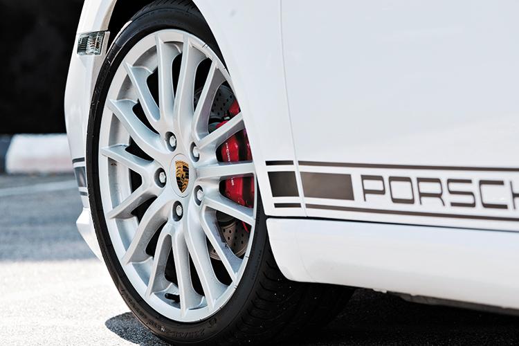 porsche cayman r wheels