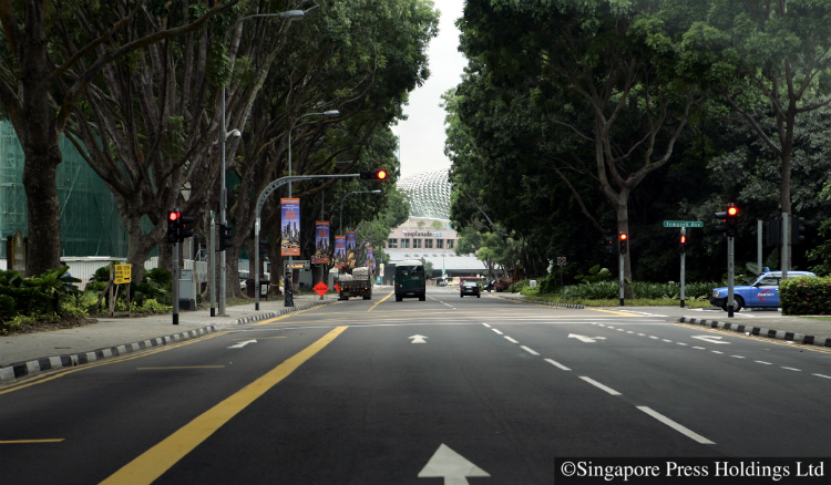 road closures and bus diversions for singapore's national day parade 2018