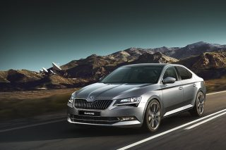 skoda superb front tracking