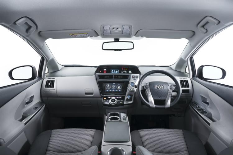Toyota Prius+ – Cockpit