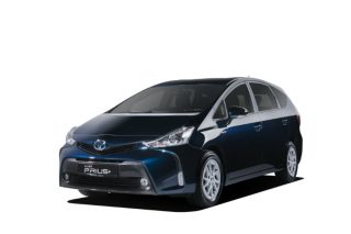 toyota prius+ front static