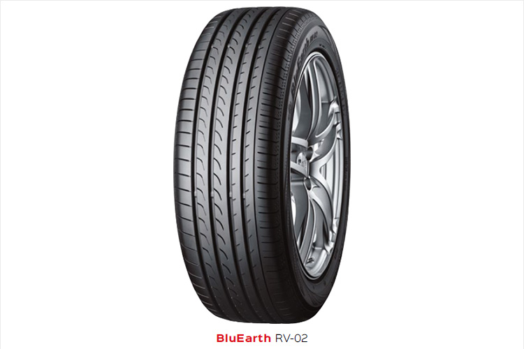 The Yokohama BluEarth RV-02 is a tyre designed to meet the unique demands of MPVs (multi-purpose vehicles) and CUVs (crossover utility vehicles).
