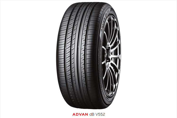 For drivers who want a comfortable and stress-free ride, there's the Advan dB V552, Yokohama's quietest tyre ever.