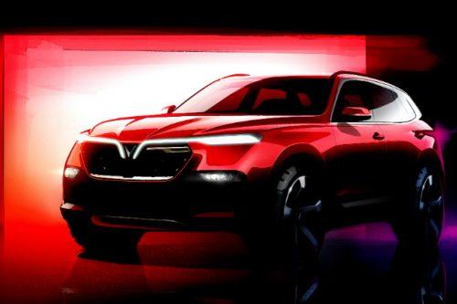 vinfast SUV rendering