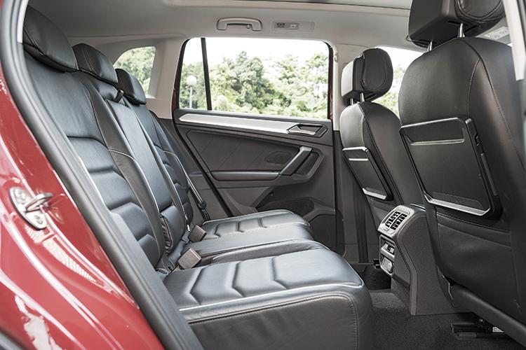 Volkswagen Tiguan – Backseat