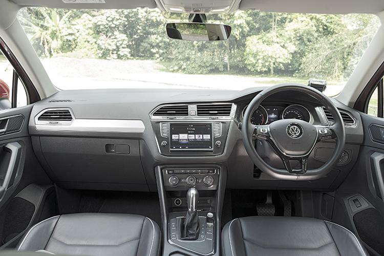 Volkswagen Tiguan – Cockpit