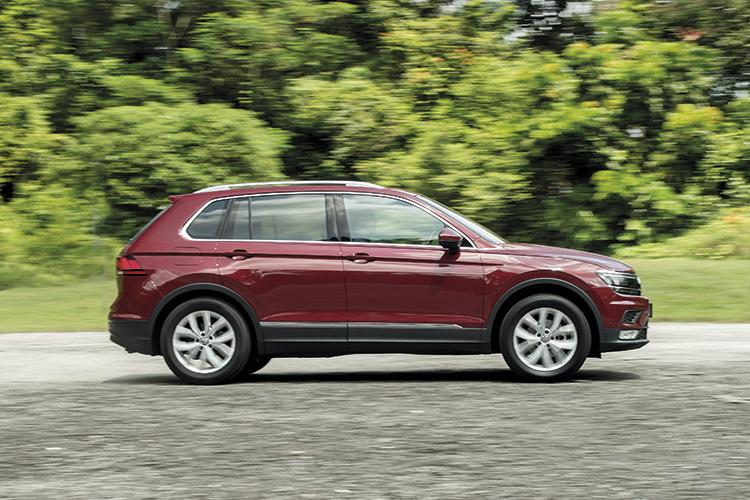Volkswagen Tiguan – Ride & Handling