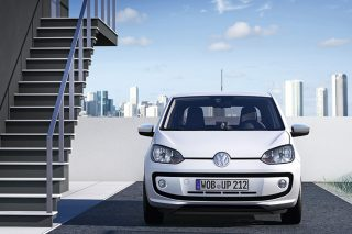 volkswagen up front static