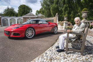 Hazel Chapman, widow of company founder Colin Chapman, has personally approved the 100,000th Lotus, as part of the marque's 70th anniversary celebrations, with the milestone sports car commemorating the legacy of Jim Clark, one of British motorsport's most enduring figures.