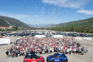 More than 3000 MINI owners participated in the finale of the biennial event MINI TAKES THE STATES 2018 and the road rally raised more than one million meals for charity partner Feeding America.