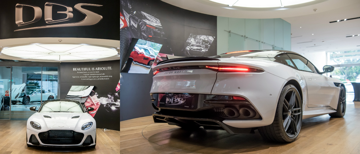 Britain's latest flagship super GT makes its first official appearance in Singapore, where the newcomer is available for public viewing in Aston Martin's 45 Leng Kee Road showroom from 17 to 23 August 2018.
