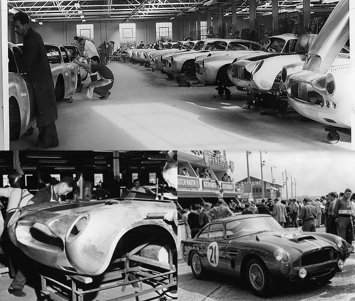 Aston Martin Marks 60 Years Of The DB4