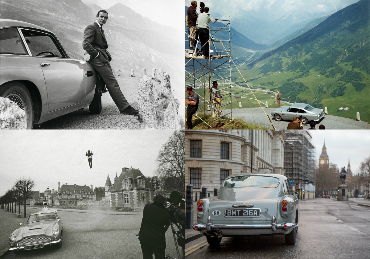 The collaboration between Aston Martin and EON Productions, the company that produces the James Bond films, will create 25 Goldfinger DB5 continuation cars, which will include working gadgets to be developed by the special effects supervisor on eight previous James Bond films.