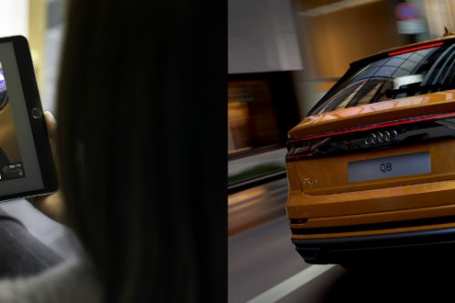 Audi is the first automaker to use 3D visualisation in its product configurator, letting customers experience a realistic 360-degree rendering of an animated vehicle in real time, directly via the Audi website, instead of static digital images.
