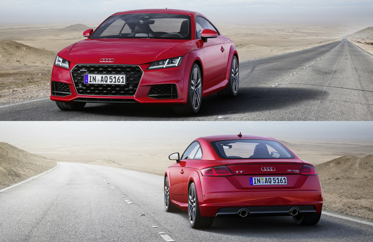 Twenty years after the series premiere of the original TT, the third generation of the Audi TT has received a comprehensive update of its exterior, engines and equipment.