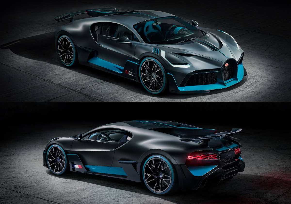 Priced at €5 million and limited to 40 units, all of which have already been sold, the Divo offers significantly higher performance than the Chiron in terms of lateral acceleration, agility and cornering.