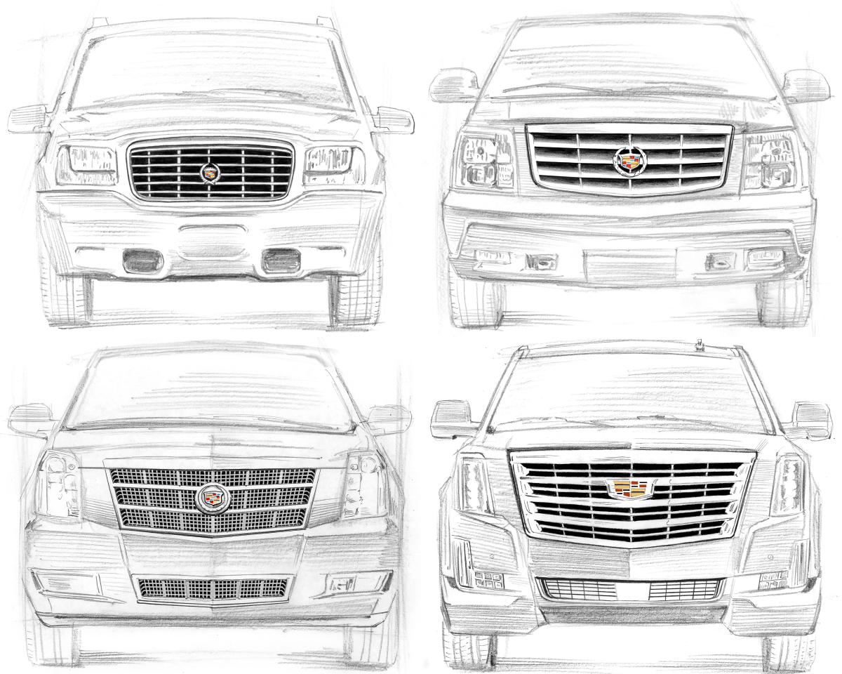 Since its public debut at the Pebble Beach Concours d'Elegance in August 1998, the Cadillac Escalade has become an all-American cultural phenomenon and defined the full-size luxury SUV segment in the United States of America.