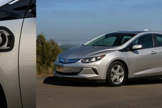 Headlining the improvements for the 2019 Chevy Volt is a a new 7.2kW charging system which cuts recharging times nearly in half by adding about twice the all-electric driving range per hour of charge.