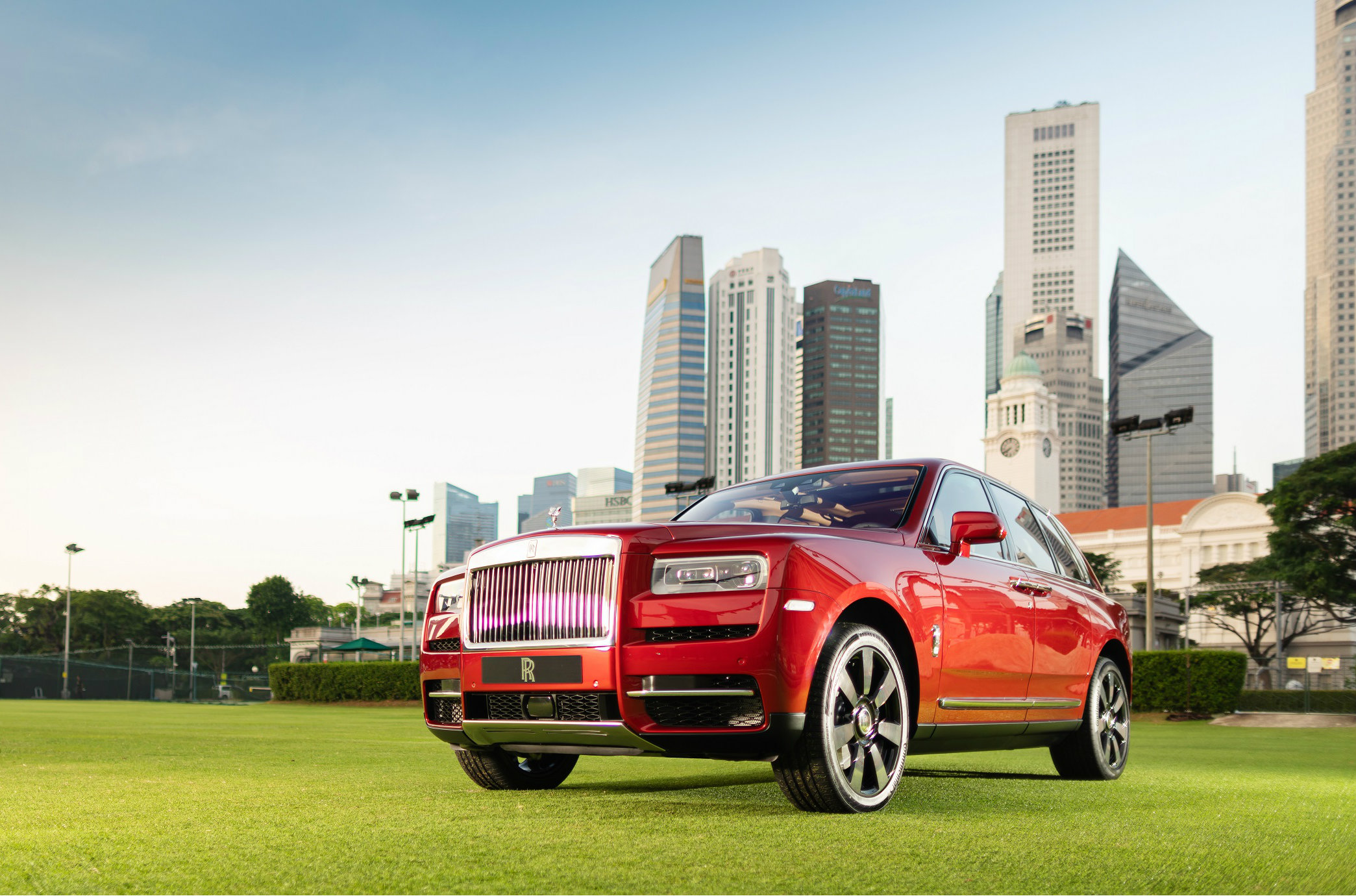 The highly anticipated $1.26 million Rolls-Royce of super-luxury SUVs made its regional debut at the Ritz-Carlton Millenia in Marina Bay.