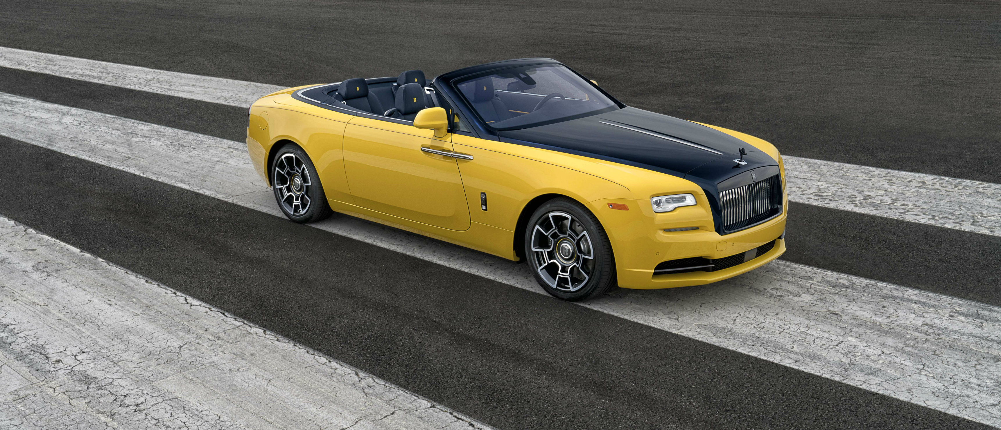 Benjamin Treynor Sloss, Vice President of Engineering at Google and a well-known car enthusiast, has taken delivery of a very personal Rolls-Royce Dawn Black Badge at this year's Pebble Beach Concours d'Elegance.