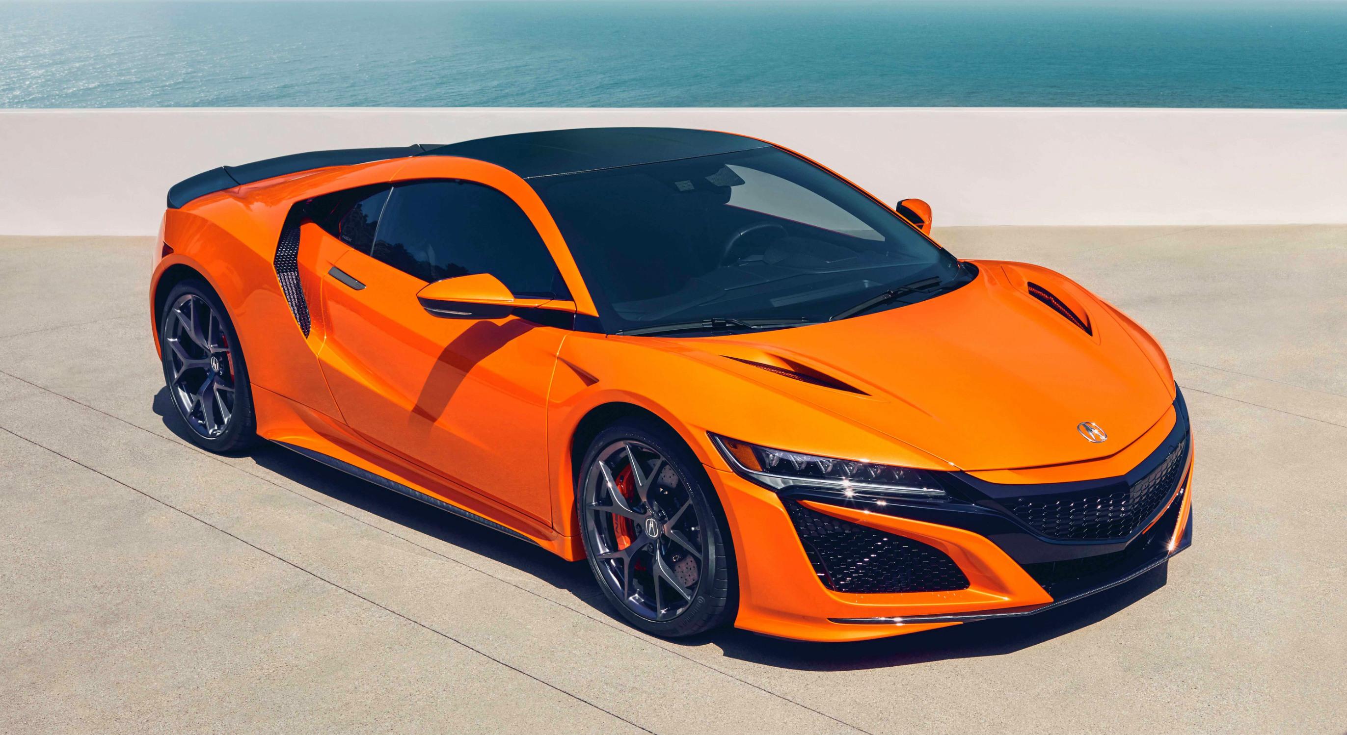 Honda Enhances Nsx Hybrid Supercar