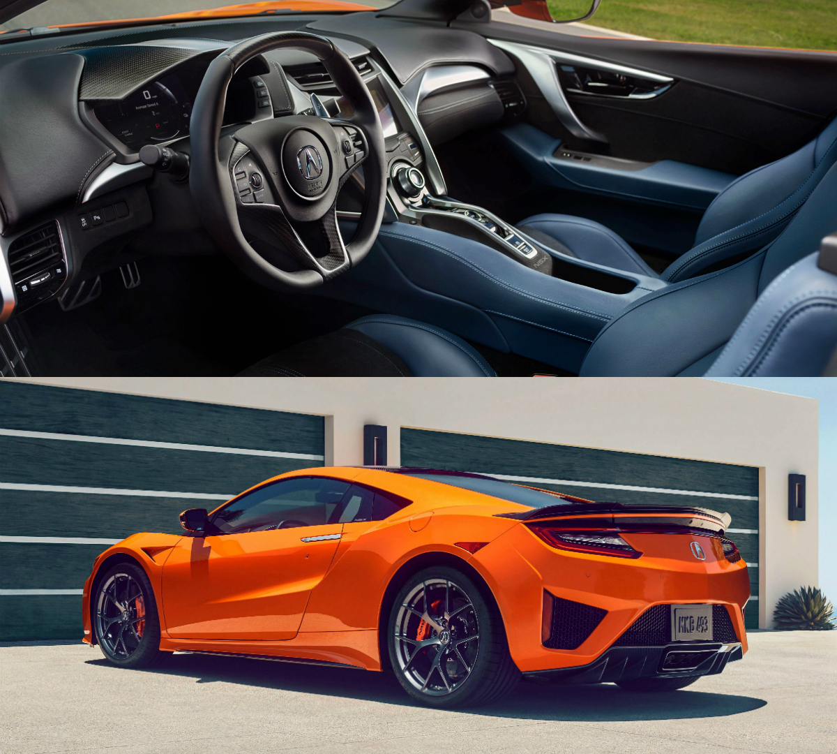 New Supercars: Honda Enhances NSX Hybrid Supercar