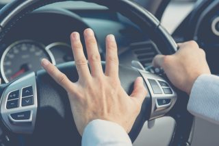 Use these tips to recognise how you feel and then try to relax yourself before getting in the car and hitting the road.