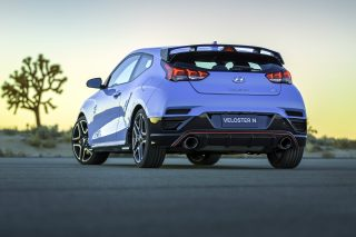 The Korean automaker's first US-market N model leverages the outstanding, new-for-2019 Veloster platform, showcasing an even higher level of performance appealing to the most discerning of automotive enthusiasts and offering a comprehensive degree of exterior, interior and mechanical differentiation, even beyond the Veloster Turbo and R-Spec models.