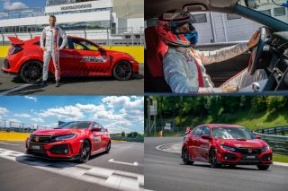 In the fifth and final of a planned series of lap record attempts across Europe in 2018, Honda has set a new 2min 10.19sec record for a front-wheel-drive production car at the Hungaroring GP circuit in Hungary, with the record-setting Civic Type R The Civic Type R driven by racing driver Jenson Button.