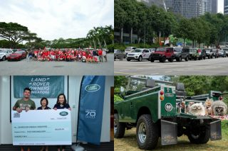 In celebration of Singapore's National Day and Land Rover's strong support for animals, Land Rover Singapore held its second National Day Charity Drive in partnership with Causes for Animals, Singapore and Land Rover Owners Singapore on August 9, 2018.