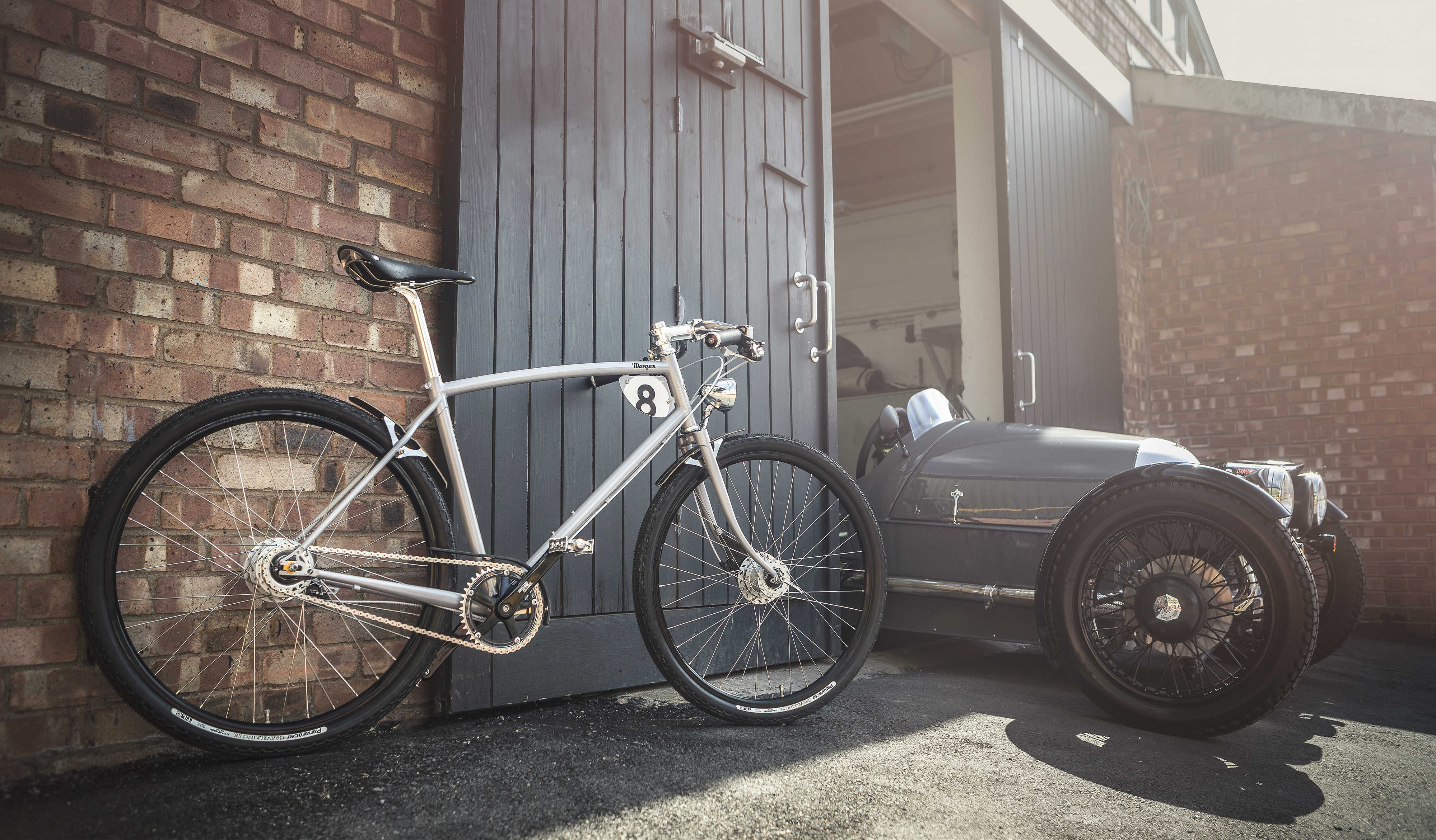The collaborative range will start with two jointly developed bicycles, known individually as the Pashley-Morgan 3 and the Pashley-Morgan 8, each one handmade at Pashley's Stratford-upon-Avon factory and featuring an extensive list of high-quality components.