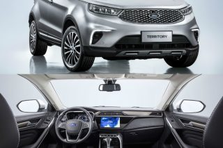 The made-in-China Ford Territory offers attractive pricing, great looks and intuitive technologies, and is aimed at SUV buyers in China's emerging, fast-growing cities.