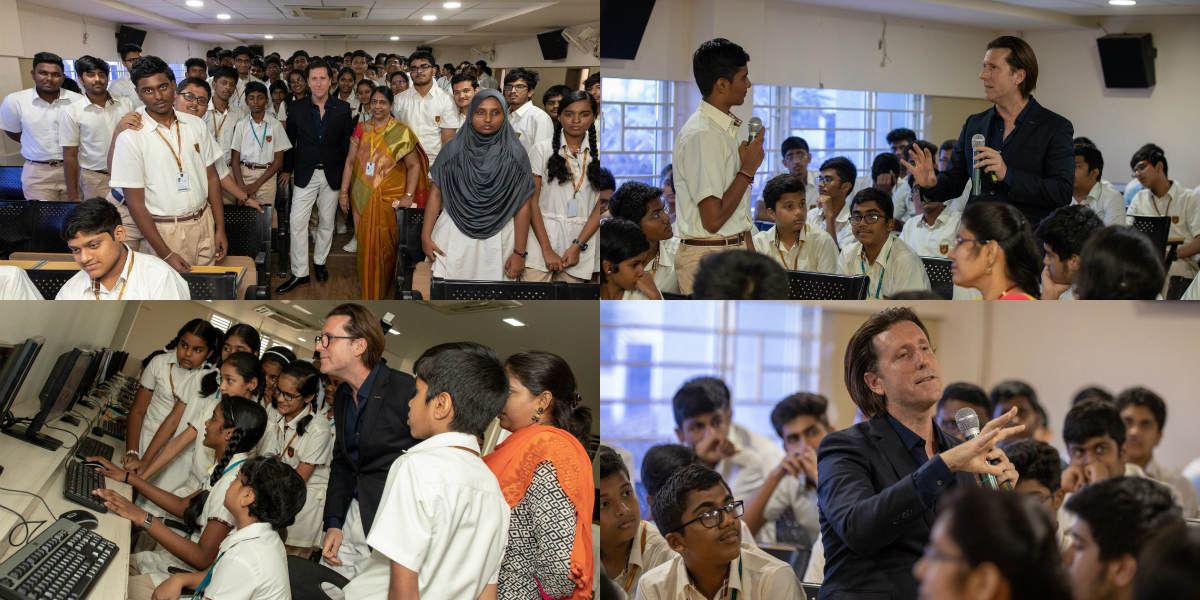 Spearheaded by Nissan Design along with the automaker's senior vice-president for global design, Alfonso Albaisa, the programme is aimed at inspiring different perspectives towards design among schoolchildren.