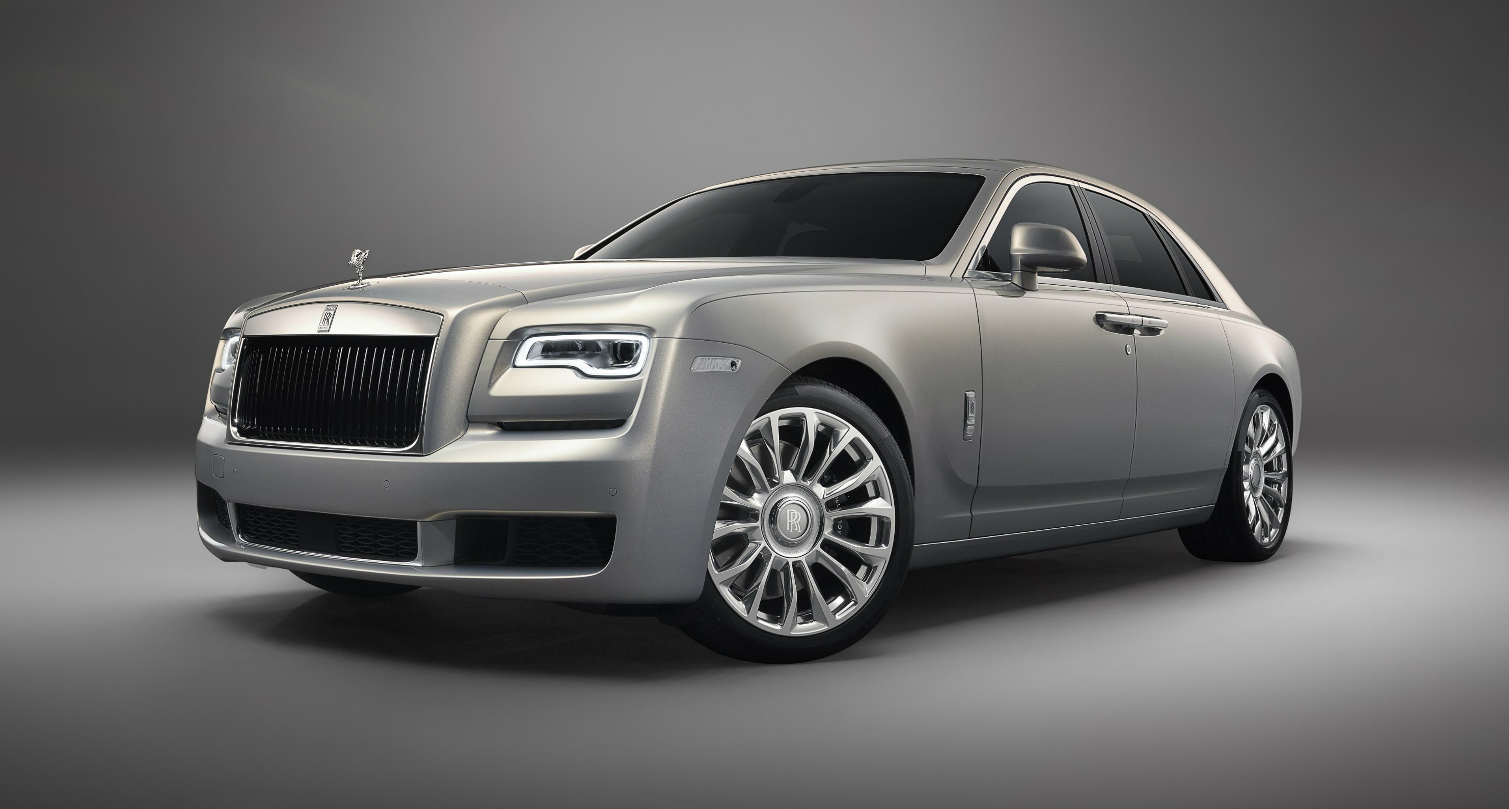 """Rolls Royce Motor Cars announces """"Silver Ghost Collection"""""""