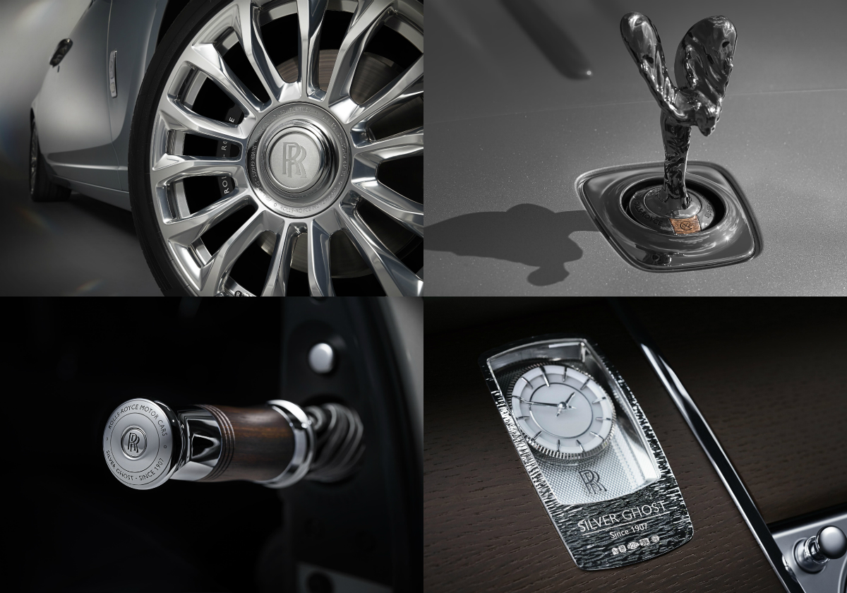 The special collection of 35 model-year 2018 Rolls-Royce Ghosts is created in homage to the original Silver Ghost, which changed the course of automotive history in 1907.