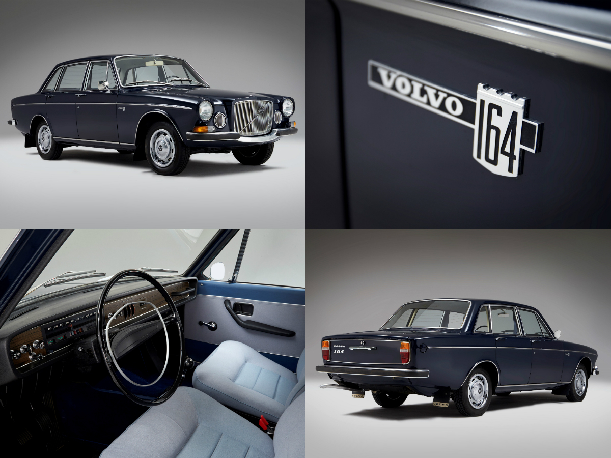 The Swedish prestige saloon which made its debut in August 1968 was priced and positioned above the 140 series, with considerably more lavish fittings inside the cabin.