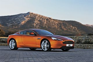aston martin virage front static