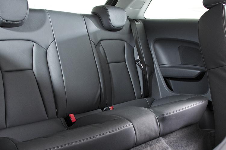 audi a1 backseat