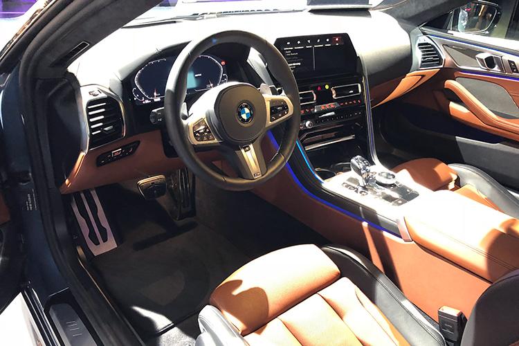 BMW 8 Series – Cockpit