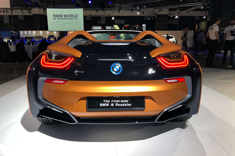 BMW i8 Roadster – Rear