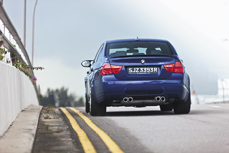 bmw m3 competition direct rear