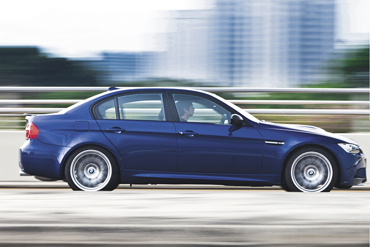 bmw m3 competition panning