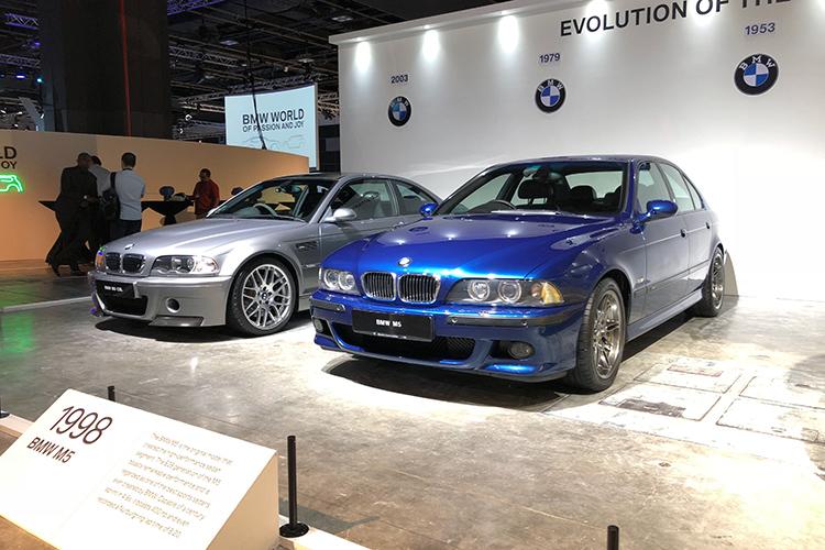 E46 BMW M3 CSL and E39 BMW M5