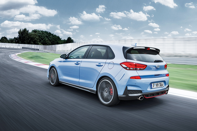 the hyundai i30 n is ready to challenge the volkswagen golf gti