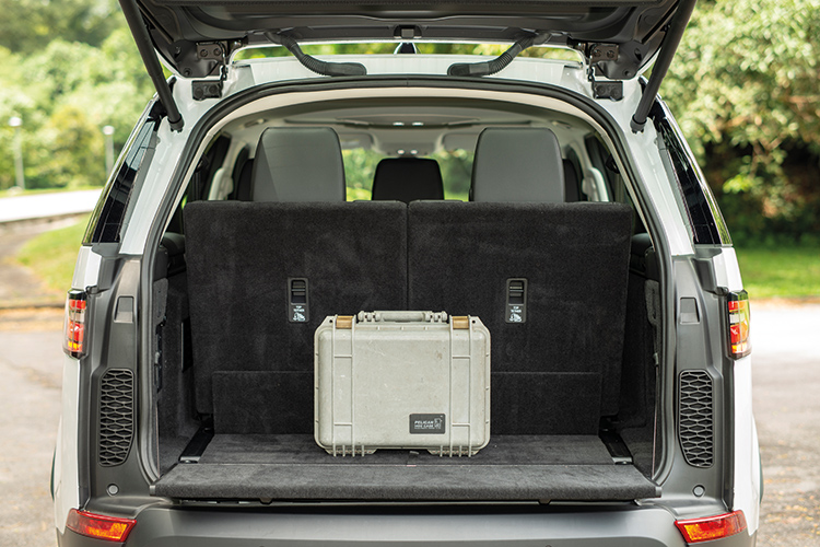 Land Rover Discovery – Boot